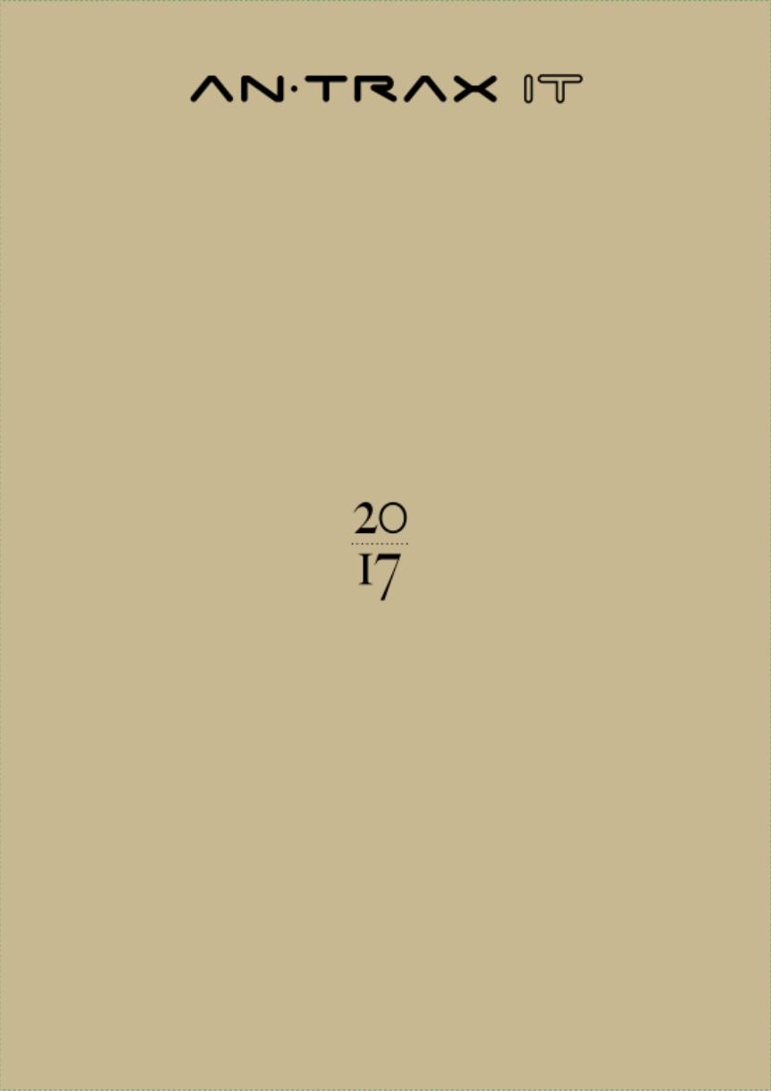 Обзорный каталог Antrax