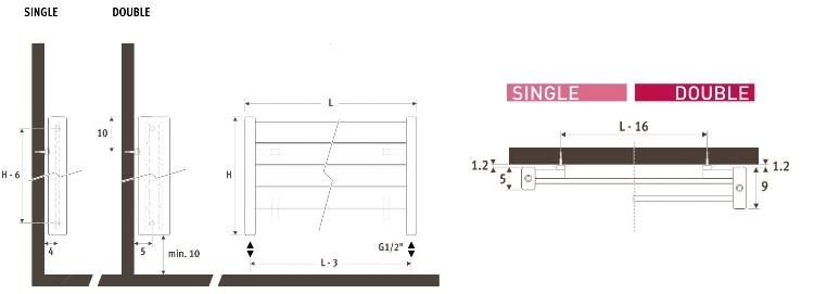 Jaga_Deco Panel Horizontaal_Dimensions